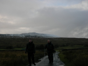 Whernside now behind us