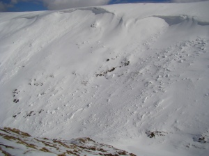 Still plenty of snow, may be there for some time