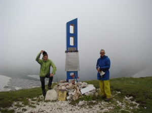 War memorial on the pass Fisht-Oushten