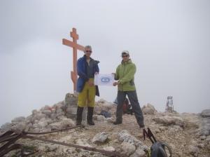 Peak Fisht Russia, the summit photo